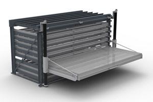lindenberg lagertechnik statische lagersysteme sonderregale schwerlastregal schubfachregal. Black Bedroom Furniture Sets. Home Design Ideas